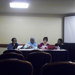Dr. Barro at the fall 2011 African Studies Association Conference