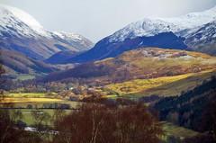 Glen Lyon landscape (eric robb niven) Tags: ericrobbniven scotland dundee glenlyon walking hills mountains snow