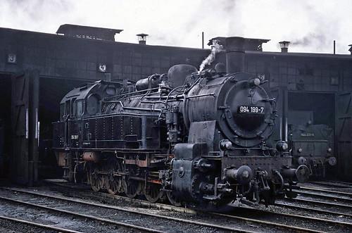 Emden depot, West Germany, 1971