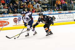 "Missouri Mavericks vs. Tulsa Oilers, March 5, 2017, Silverstein Eye Centers Arena, Independence, Missouri.  Photo: John Howe / Howe Creative Photography • <a style=""font-size:0.8em;"" href=""http://www.flickr.com/photos/134016632@N02/33158625992/"" target=""_blank"">View on Flickr</a>"