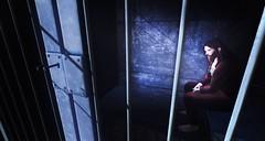 cell (aarontj90) Tags: cell prison jail blue orange jumpsuit jesus yeezus hipster cool hippie