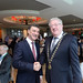 Seamus Clancy, Repak with Joe Dolan, IHF President