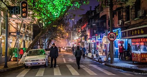 2016 - China - Wuhan - Crosswalk