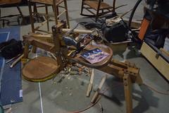 DSC_0453 (jjldickinson) Tags: nikond3300 105d3300 nikon1855mmf3556gvriiafsdxnikkor promaster52mmdigitalhdprotectionfilter longbeach day long beach convention center dtlb worldwoodday wood tool drawknife casting hand