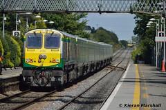 232 departs Portlaoise, 18/8/15 (hurricanemk1c) Tags: irish train gm rail railway trains railways irishrail 201 232 generalmotors portlaoise 2015 emd iarnród éireann iarnródéireann 1320corkheuston