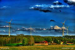 Landschaft Nähe Trogen (GerWi) Tags: landschaft wkr trogen windkrafträder