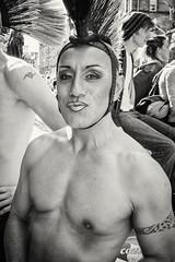 20150812-0252-Edit (www.cjo.info) Tags: australasia bw edinburgh edinburghfestival edinburghfestival2015 europe europeanunion fujifilm fujifilmxt1 fujinonxf23mmf14r highstreet krdstripaplacetostand newzealand nikcollection okarekadancecompany oldtown royalmile scotland silverefexpro silverefexpro2 unitedkingdom westerneurope xmount xfmount blackwhite blackandwhite bodypart chest citycenter digital festival man monochrome people performance shirtlessman shows software streetperformer technique