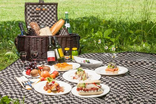 Picknickkorb Napoleon im Warmbaderhof