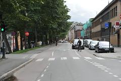 Sykkelfelt Kjpmannsgt. 0030 (Miljpakken) Tags: trondheim rdt sykling bymilj gatemilj miljpakken syklister bygate bytransport bytrafikk miljopakken sykkelveg sykkelanlegg bysykling
