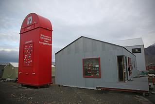 Postkasse på Svalbard