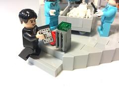 Bones TV Show - FBI Agent Seeley Booth (BrickGirls.com) Tags: show tv lego science bones tvshow davidboreanaz forensic emilydeschanel