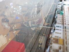 DMC-G2 - P1500390 (archive_diary) Tags: vienna wien austria sterreich theater drawing geschft sessel zeichnung alltag auslage heimweg vorstellung siebensterngasse turrini oelkreide derriesevomsteinfeld emptypaddedtimeatwork 1592012 emptychairvangogh