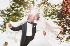 Fun at autumn wedding (hufskypotography) Tags: autumn sun inspiration love canon groom bride dresden couple availablelight saxony sigma romance hochzeit heiraten eckberg hochzeitsfotografie sigmart hufskyphotography