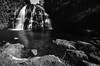 Waitawheta Waterfall (Mr F Ding) Tags: longexposure newzealand blackwhite waterfall nikon stream ngc falls 1224f4