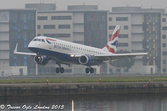 DSC_4180Pwm (T.O. Images) Tags: city london airport british airways embraer lcy