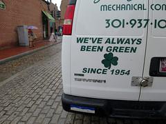 Always Green (Daquella manera) Tags: irish green dc washington engineering van shamrock sustainability irlanda trebol