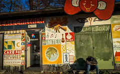 Basel. No man's land.11.11.15-2.jpg (Charles Andre Habib) Tags: street color switzerland refugees ch