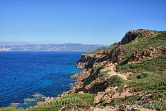 Vista panoramica della costa nord da Capo Altano - Portoscuso (Franco Serreli) Tags: sardegna sea costa mare sardinia falesia mediterraneansea falesie coste sulcis portoscuso sulcisiglesiente maresardo costesarde