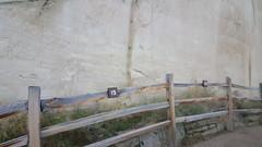 Inscriptions at Inscription Rock in El Morro NM