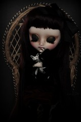 Little monster with sharp teeth (Loony-Doll) Tags: doll vampire stock full mio groove pullip blythe kit custom fc custo poupe junplanning customise makeitown
