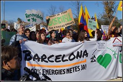 Marcha por el clima 2015 Barcelona (By_Star) Tags: ecology spain environment ecologa climatechange climate co2 cambioclimatico ecologists ecologistas calentamientoglobal bcn29n marchaporelcambioclimatico marchaporelclima marxamundialpelclima marchfortheweather