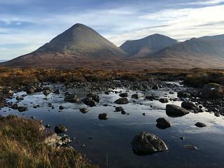 The Cuillins, Sligachan, Fairy Pools, Isle of Skye