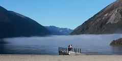 Hard to Resist (Tones Corner) Tags: blue mist lake water outdoor jetty lakerotoiti nelsonlakes starnaud nzscene nzbeauty nzscenic