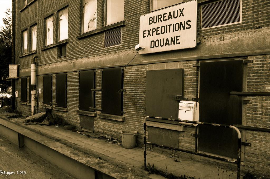 L ancien bureau des douanes à halluin est