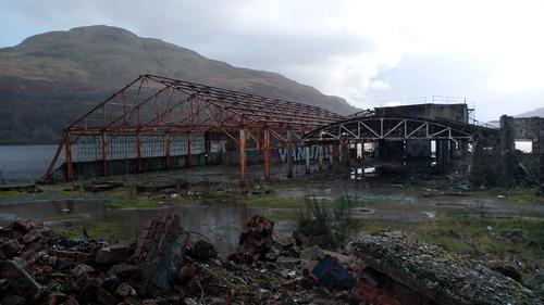 URBEX à Arrochar, en Écosse