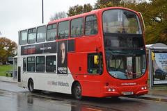 National Express West Midlands 4657 BX54XRB (Will Swain) Tags: city uk travel november england west bus buses birmingham britain centre transport vehicles national vehicle express midland 6th solihull midlands nx 2015 4657 nxwm bx54xrb
