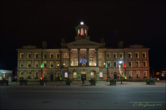 Victoria Hall In Festive Lights (Jeannot7) Tags: ontario christmaslights cobourg victoriahall