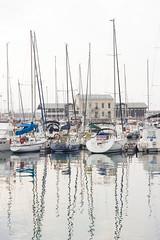 Puerto de Gijn (Moraiya) Tags: puerto gijn reflejo barcas xixn sevende