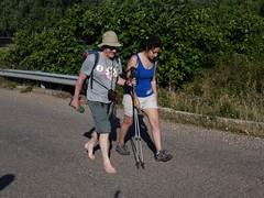 Anche a piedi nudi (Anton e  Lulù). Foto Laura Cignoli