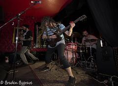 D7K_2218  CC (Braden Bygrave) Tags: show toronto rock drums concert lowlight nikon drum bass guitar flash crowd singer bassist drummer nikonphotography d7100 nikonphoto yn460 nikond7100