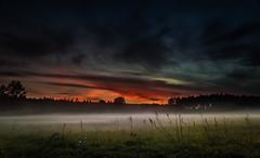 The moon is my beacon 3 (piotrekfil) Tags: sunset sky mist nature fog clouds landscape twilight dusk poland sigma1750mmf28 piotrfil