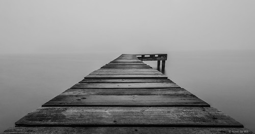 Lonely jetty