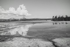 It was a beautiful day (kc_hoang) Tags: yellowstone travelplanet worldtravel reflection tamminhphotography