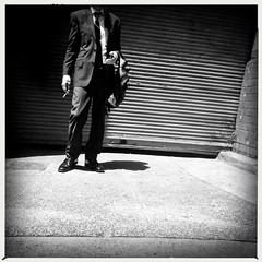 the relegated smoker (Albion Harrison-Naish) Tags: sydney newsouthwales australia streetphotography sydneystreetphotography albionharrisonnaish iphoneography mobilephotography iphone iphone5s hipstamatic akiralens aobwfilm unedited sooc straightoutofcamera