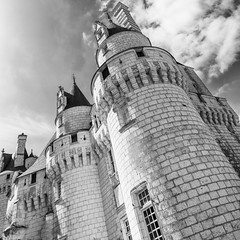 Les tours de la belle au bois dormant (Gilles83100) Tags: castle architecture france europe travel chateau ussé sony light blackandwhite perrault