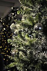 xmas everywhere (momentos guardados @martaremartinezphoto) Tags: navidad xmas arboldenavidad bolas arbol xmastime bokeh