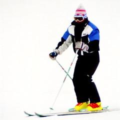 Long Radius Turns (wordman760) Tags: csia level4 grayrocks sugarpeak champagne longradiusturn skiinstructor skipro monttremblantskishcool saintjovite monttremblant laurentides laurentians québec canada outdoors winter snow skiing ski sport 35mm