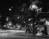 Winter Park at Night (jeffk42) Tags: ilfordhp5 mamiyarz67proii film analog bw blackandwhite winter park florida