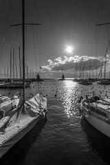 Port de Morges (DomSwiss) Tags: domswiss nature nuages nuage noirblanc nb lac leman hiver