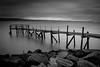 Holywood Yacht Club Jetty. Belfast, Northern Ireland (jtat_88) Tags: 09neutraldensityhardgrad adventure amateur bw belfast belfastlough blackandwhite breakwater clouds coast dark december digital discover discovernorthernireland dock filters fullframe greyscale hardgrad ilce7 iso50 ireland jetty lee leefilters leelittlestopper landscape lightroomcc longexposure mirrorlesscamera monochrome motion nature northernireland photography pier rocks rugged ruin scenery scenic shoreline sky sony sonyfe2870mmf3556oss sonya7 ulster view water winter wooden holywood unitedkingdom gb 10faves
