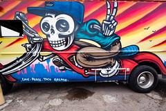 Love, Peace, Taco Grease (Dennis Valente) Tags: 5dsr foodtruck lalocota art contemporaryurbanart 2016 sw carart southwestern rooseveltrowartsdistrict hdr valleyofthesun urbanart southwest tacotruck lovepeacetacogrease spraypaint paint isobracketing streetart arizona pazcantina phoenix mural rooseveltrow