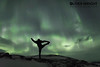 Yoga in the Winter Solstice Geomagnetic Storm (Oliver C Wright) Tags: aurora auroraborealis yoga