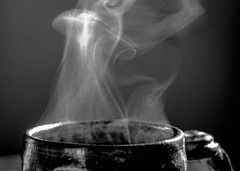 Steam rises (raylincoln1) Tags: sony a65 mug cup hot water steam vapor