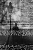 Part Of The Art (TablinumCarlson) Tags: europa europe deutschland germany brd niedersachsen lower saxony braunschweig leica brunswiek brunswick harz mountains oker hanseatic league hansestadt hanse architektur laterne schatten wand wall fassade schwarz weis black white kopfsteinflaster selbstportraot selfi licht light church kirche leicam m8 28mm summicron magni sanktmagni stmagni magniviertel streetphotography street lampe lamp gaslamp shadow