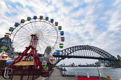 Luna Park's wheel ride is waking up