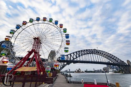 Luna Park's wheel ride is waking up